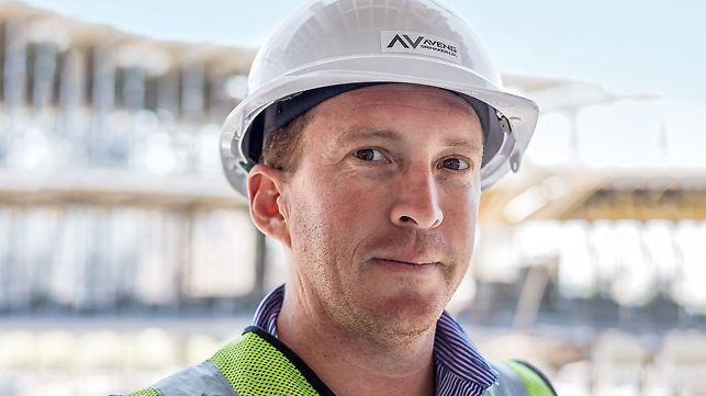 Timothy Rowbottom, Projektleiter, Aveng Grinaker-LTA