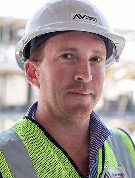 Sasol Head Office, Timothy Rowbottom,  Aveng Grinaker–LTA Contracts Manager