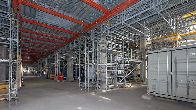 New construction of an acetylene plant, BASF Ludwigshafen