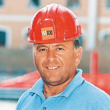 MAXXI, Rim, Italija - Gianni Scenna, voditelj gradnje