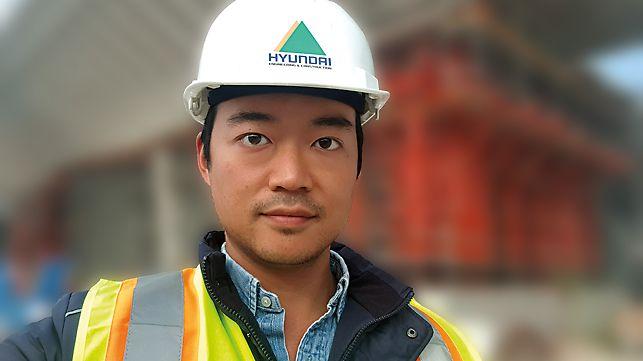 Portait of Kim Hyungwoo, Procurement Manager, Hyundai E&C, Qatar