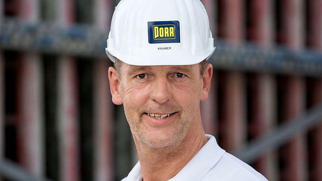 Porträt von Pirmin Kramer, Bauleiter bei PORR Deutschland GmbH, München