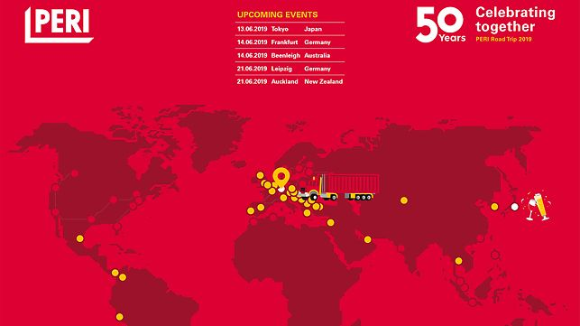 Roadmap of 50 years celebrations