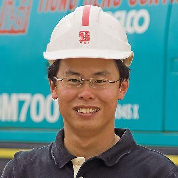 Edwin Lee Wee Ping, Schalungsingenieur