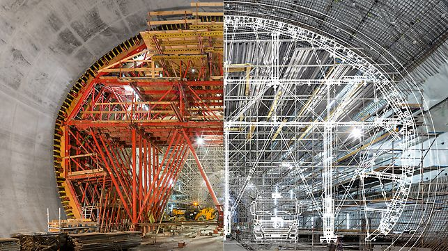 PERI engineers plan and design formwork and scaffolding solutions.