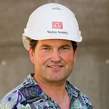 Stefan Schütz, Senior Site Foreman, Galileo Satellite Centre