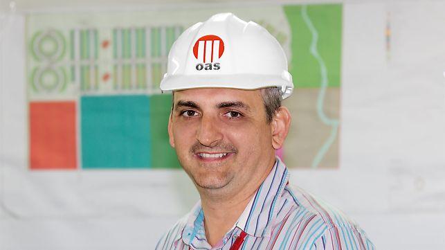 Porträt von Fabio Luis Toldo, Projektleiter, Constructora OAS Ghana Ltd