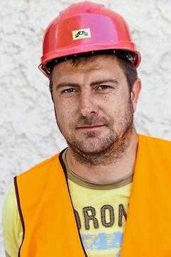 Martin Suľa, stavbyvedúci