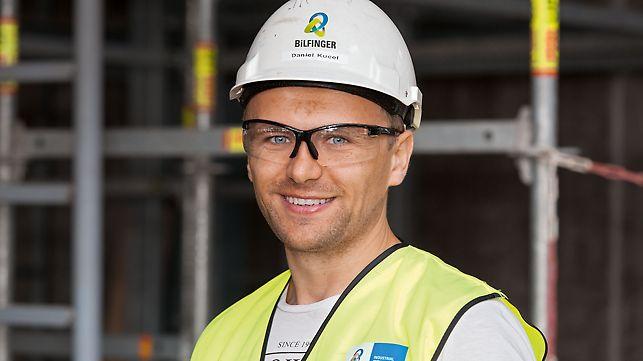 Elektrana Eemshaven, Daniel Kuceł, šef gradilišta