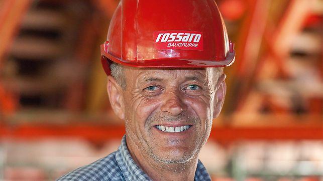 Porträt von Peter Faußner, Polier bei Rossaro Baugruppe, Aalen