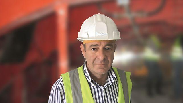 Metro de Argel - Linha e Estações - Engº Vitor Cruz, Director de Produção