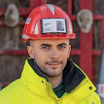 Martin Kantor, stavbyvedoucí