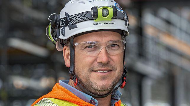 Porträt von Gerhard Hawemann, Geschäftsführer bei promaintain