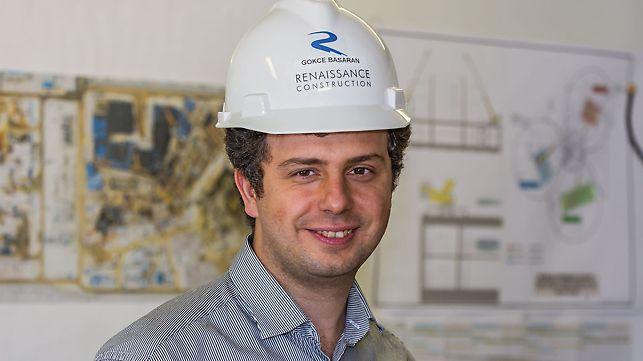 Portret Fark Gökçe Başaran, šef odeljenja za inženjerska rešenja pri Renaissance Construction, Sankt Peterburg, Rusija