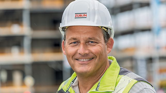 Porträt von Oliver Janßen, Oberpolier bei Ed. Züblin AG, Bereich Stuttgart