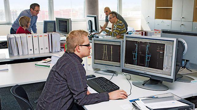 Individuální návrh a poradenství od expertů na bednění, přesně na míru vytvořená řešení od lešenářských specialistů.
