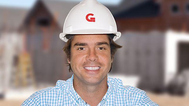 Porträt von Pedro Letelier, Projektleiter bei Galilea S.A. Ingeniería y Construcción, Talca