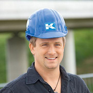 Portrait von Andreas Ficht, Bauleiter bei Alfred Kunz Untertagebau GmbH, München