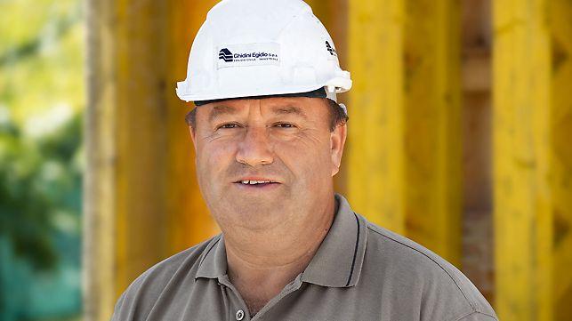 Silos za žitarice, Mauro Ghidini, preduzetnik