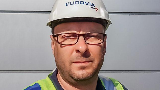 Portrait of Krzysztof Kolosa, Bridge technology Supervisor at Eurovia Polska S.A., Poland