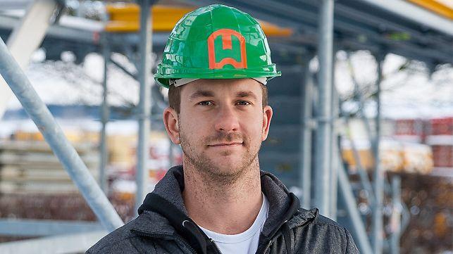 Portrait of Jakub Synek, Site Manager, Stavební firma Hobst, a.s., Zeleneč