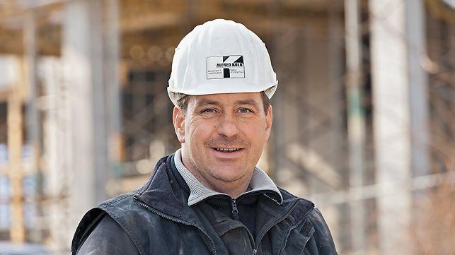 Portrait von Erich Pfleiderer, Polier bei Alfred Kolb GmbH & Co. KG