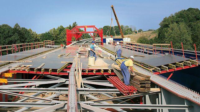 Tošanovice-Žukov Bridge, Czech Republic