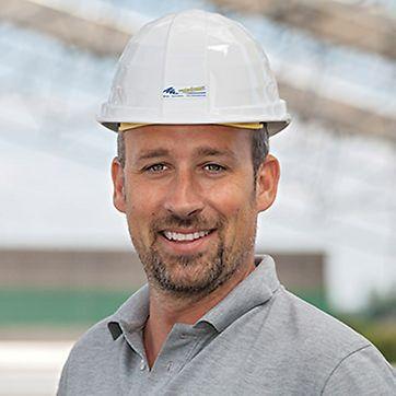 Porträt von Thorsten Wahner, Bauleiter und Geschäftsführer von Eugen Wahner GmbH in Sulzfeld