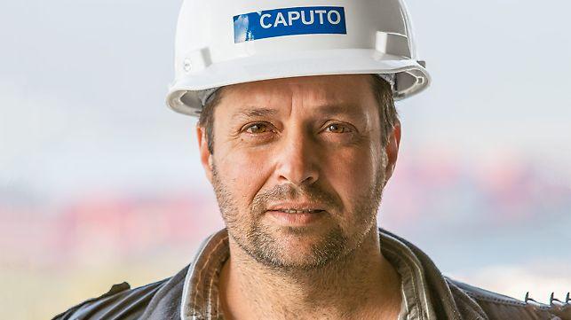 Portret Martín Bredda, supervisor izgradnje, Caputo S.A.