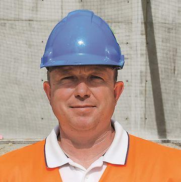 Jozef Hipp, stavbyvedúci