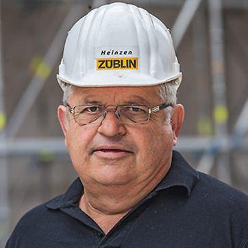 Foto von Hans-Willy Heinzen, Oberpolier von Ed. Züblin AG
