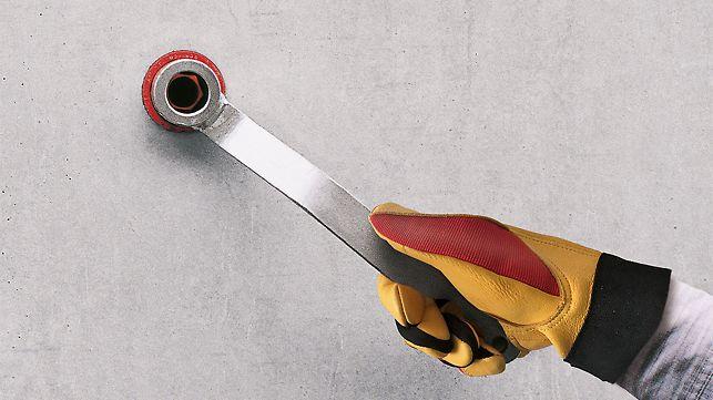 Ausbau der DK Dichtungskonen mit dem DK Konusschlüssel UNI.