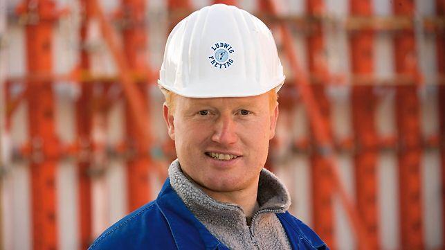 Ewald Jelten, Foreman, Wasserwerk Sandelermöns