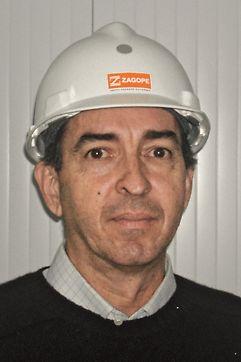 Ponte sobre o Rio Uima - Engº Ricardo Sampaio, Director de Produção