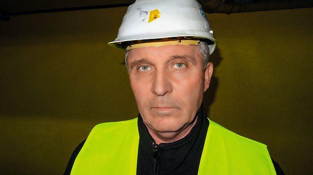 """Jozef Szusztor, stavbyvedúci - """"Vďaka vysokej odbornosti technikov spoločnosti PERI sme dokázali zvládnuť náročné požiadavky dodávateľa technológie v stanovenom čase bez obmedzenia výroby."""""""