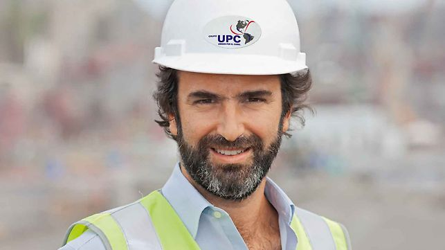 Rafael Sarmiento, šef gradilišta Miraflores/Pazifik