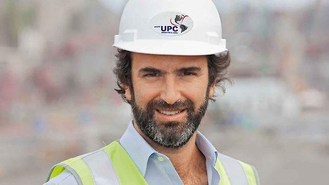 Rafael Sarmiento, Bauleiter Miraflores/Pazifik