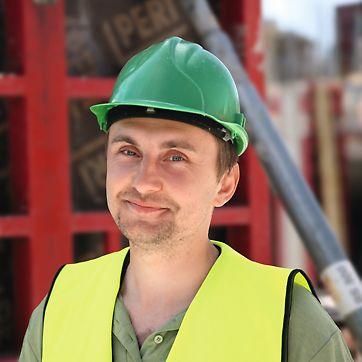 Martin Choutka, stavbyvedoucí