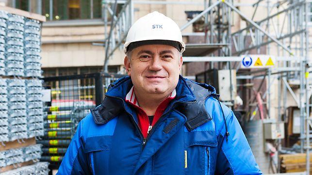 """В.Н, Каневский, ответственный производитель работ по конструктиву ООО """"Стройкомплект"""""""