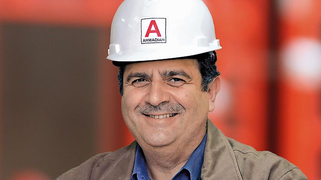 Al Hamra Tower - Project Manager Hani Abu-Haidar