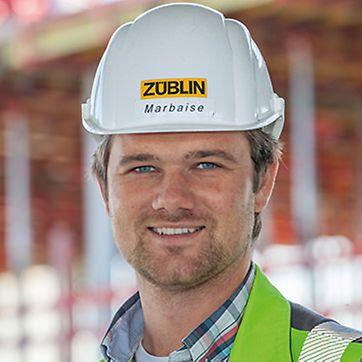 Thoamas Marbaise, Bauleiter bei Ed. Züblin AG, Direktion Stuttgart