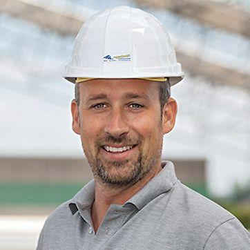 Portrait von Thorsten Wahner, Bauleiter und Geschäftsführer von Eugen Wahner GmbH, Sulzfeld