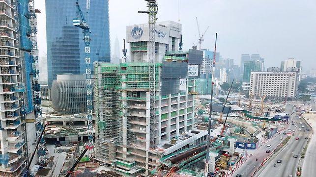 Affin Bank and HSBC Bank, TRX Kuala Lumpur