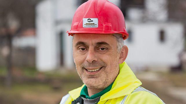 Portrait of Aleksandar Milenković, Site Manager, GP Planum AD, Belgrad