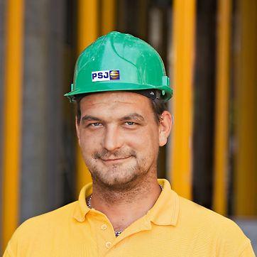 Petr Smrž, hlavní stavbyvedoucí