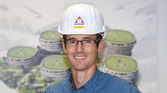 Porträt von Horst Höfer, Projektleiter bei Heitkamp Construction GmbH, Wien