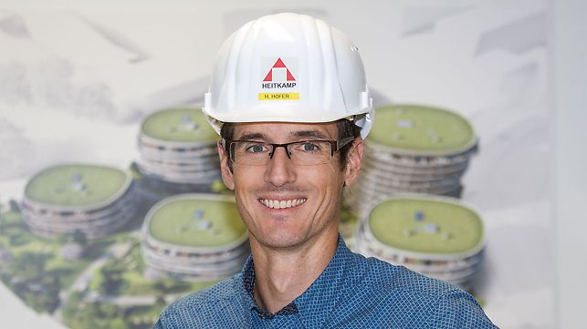 Picture of Mr. Horst Höfer,  Project Manager at Heitkamp Construction GmbH, Vienna