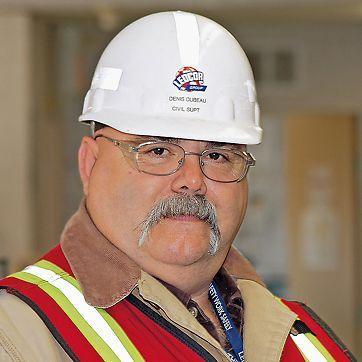 Denis Dubeau, stavbyvedoucí