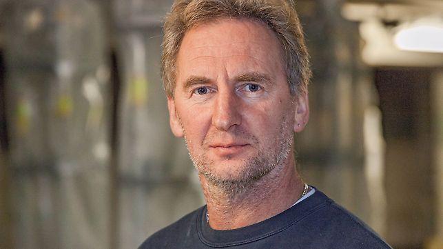 Portrait von Wolfgang Stöckl, Polier bei Hydro-Tech GmbH in Bobingen