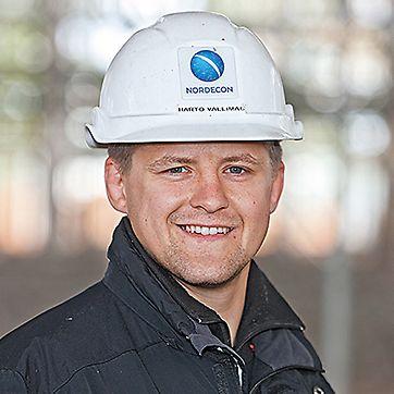 Harto Vallimägi, šef gradilišta
